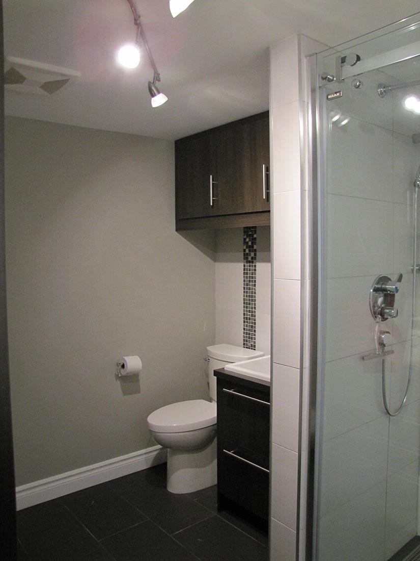 Salle de bains - Ébénisterie Bercier